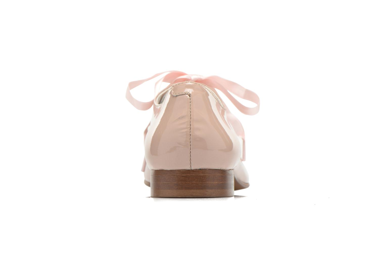 Chaussures à lacets Georgia Rose Alilikou Rose vue droite
