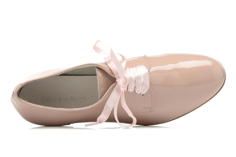 Chaussures à lacets Georgia Rose Alilikou Rose vue gauche