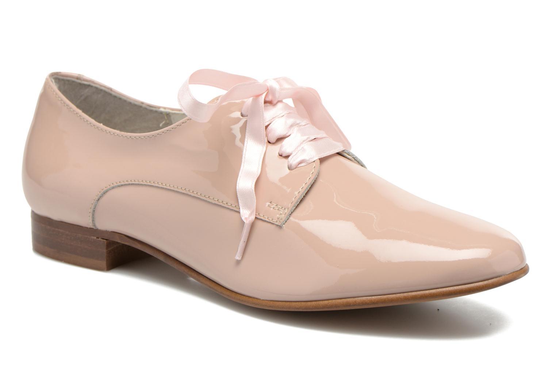 Chaussures à lacets Georgia Rose Alilikou Rose vue détail/paire