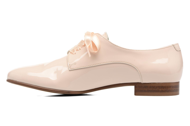 Chaussures à lacets Georgia Rose Alilikou Beige vue face