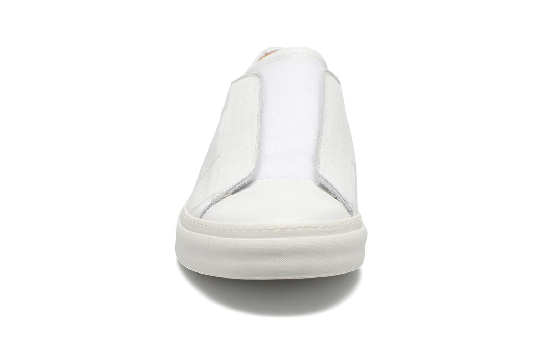 Baskets Marc Jacobs Welldone Blanc vue portées chaussures