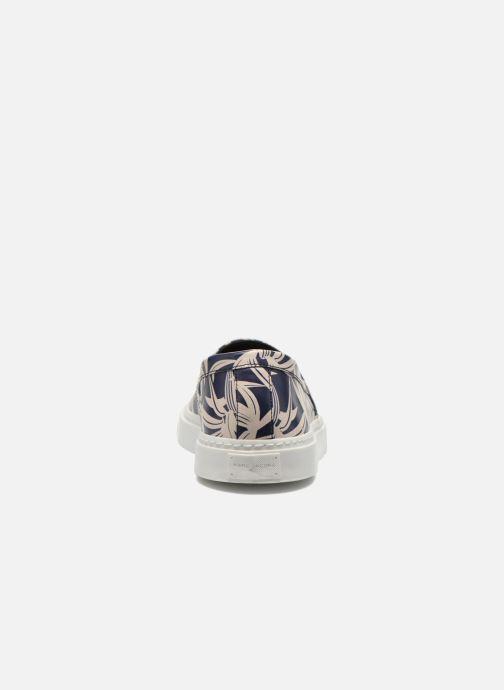 Baskets Marc Jacobs Chillout Bleu vue droite