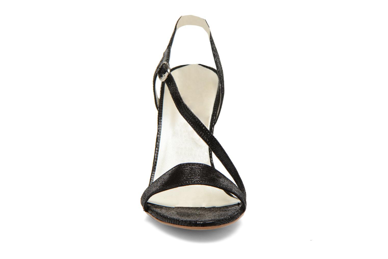 Sandales et nu-pieds Georgia Rose Eluje Noir vue portées chaussures