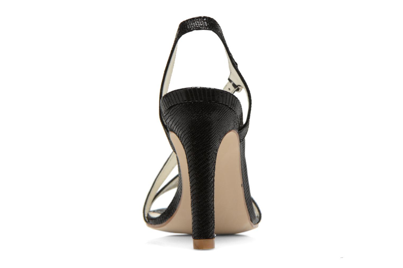 Sandales et nu-pieds Georgia Rose Eluje Noir vue droite