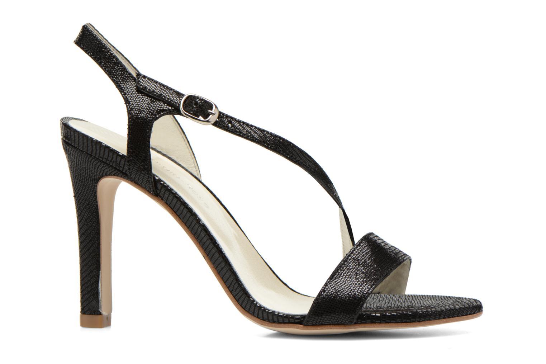 Sandales et nu-pieds Georgia Rose Eluje Noir vue derrière