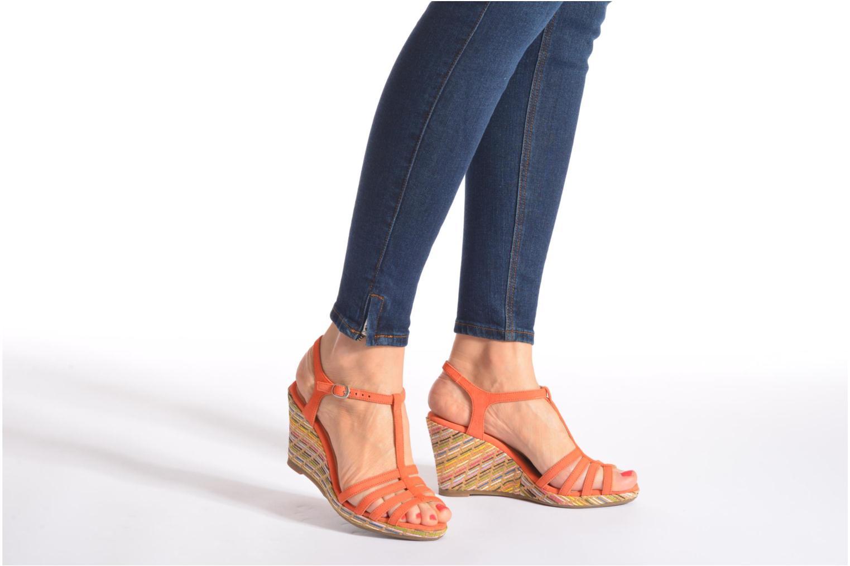 Sandals Georgia Rose Emerita Orange view from underneath / model view