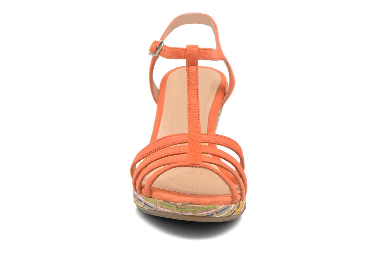 Sandals Georgia Rose Emerita Orange model view