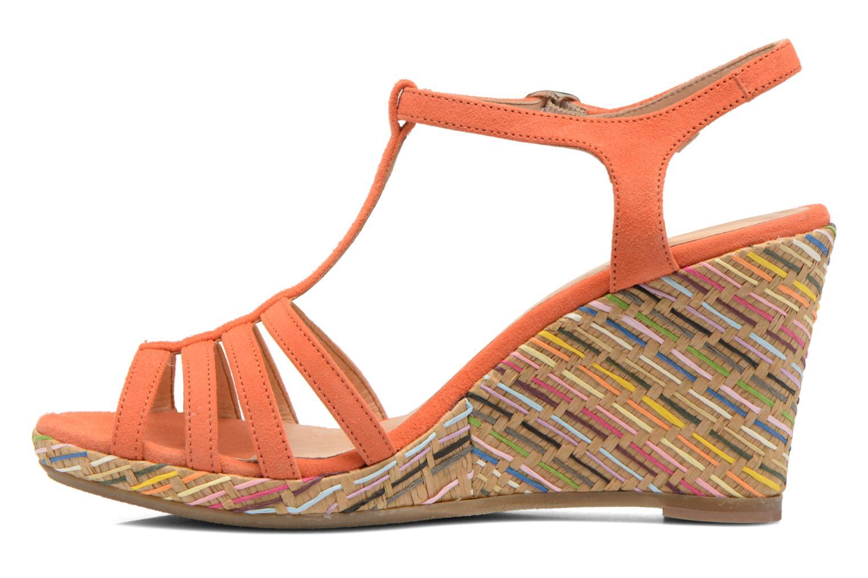 Sandals Georgia Rose Emerita Orange front view