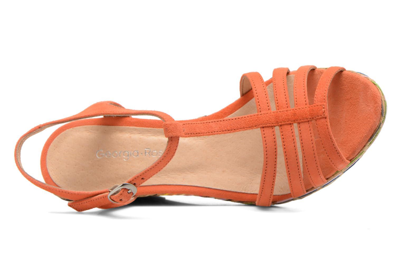 Sandals Georgia Rose Emerita Orange view from the left