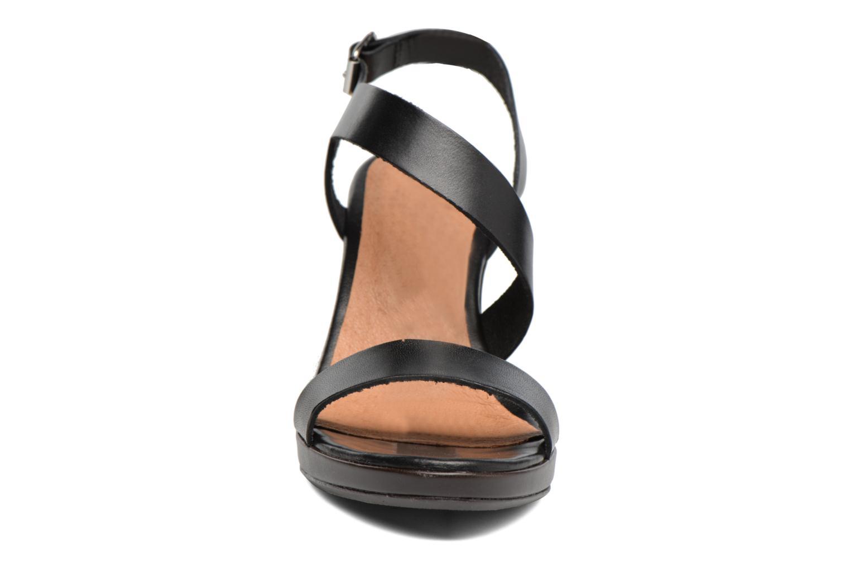 Sandales et nu-pieds Georgia Rose Ecarme Noir vue portées chaussures