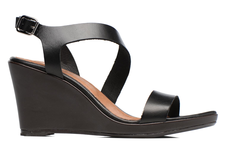 Sandales et nu-pieds Georgia Rose Ecarme Noir vue derrière