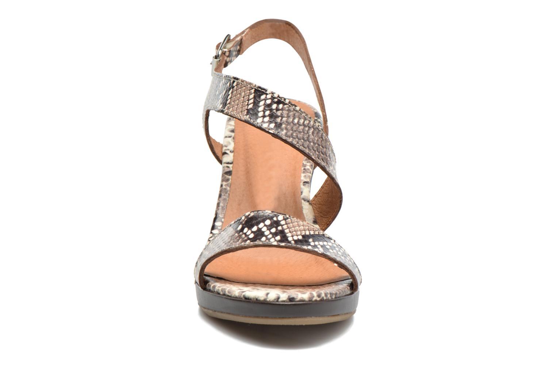 Sandales et nu-pieds Georgia Rose Ecarme Beige vue portées chaussures