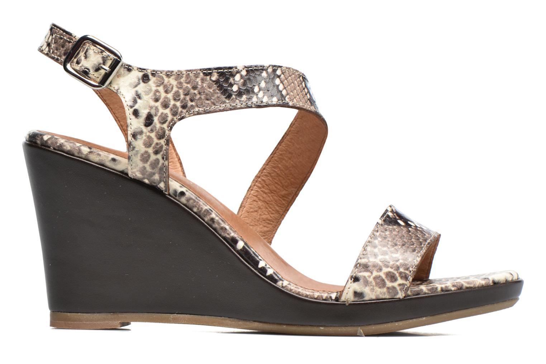 Sandales et nu-pieds Georgia Rose Ecarme Beige vue derrière
