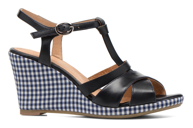 Sandales et nu-pieds Georgia Rose Ehourque Bleu vue derrière