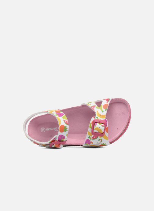 Sandales et nu-pieds Agatha Ruiz de la Prada Bio Agatha Multicolore vue gauche