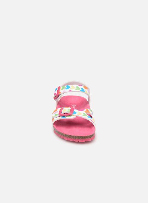 Sandalen Agatha Ruiz de la Prada Bio Agatha mehrfarbig schuhe getragen