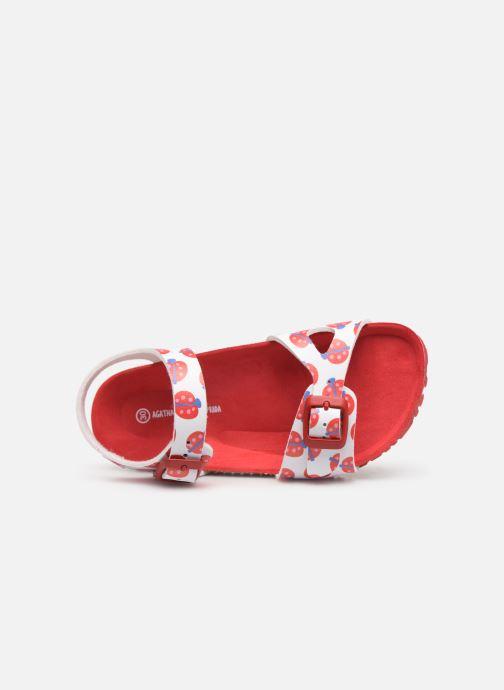 Sandali e scarpe aperte Agatha Ruiz de la Prada Bio Agatha Multicolore immagine sinistra