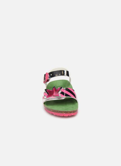Sandales et nu-pieds Agatha Ruiz de la Prada Bio Agatha Argent vue portées chaussures