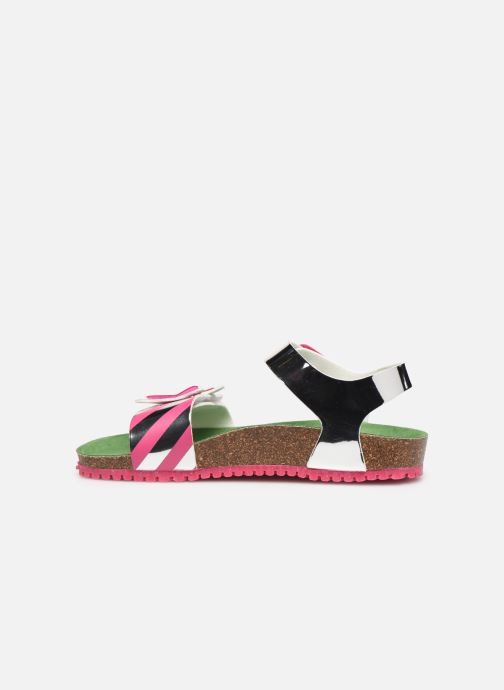 Sandales et nu-pieds Agatha Ruiz de la Prada Bio Agatha Argent vue face