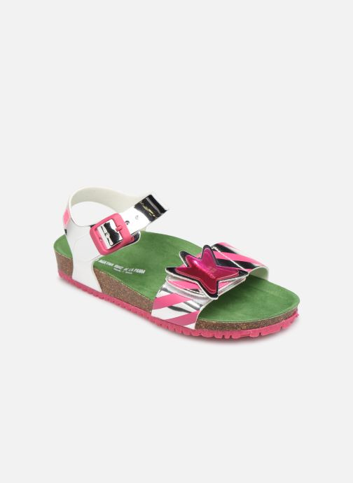 Sandals Agatha Ruiz de la Prada Bio Agatha Silver detailed view/ Pair view