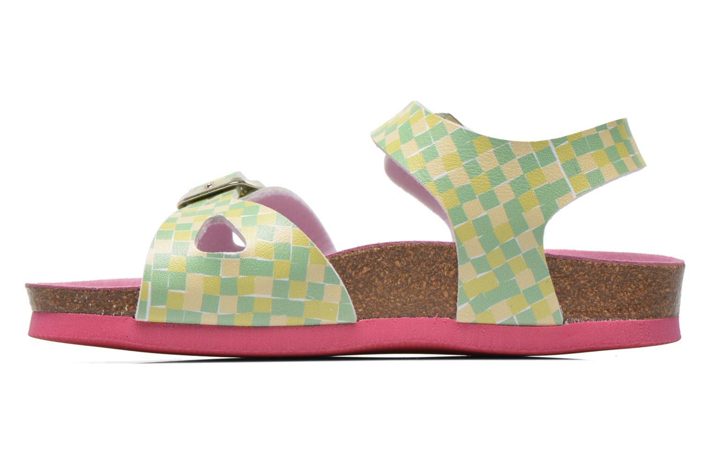 Sandales et nu-pieds Agatha Ruiz de la Prada Bio Agatha Vert vue face