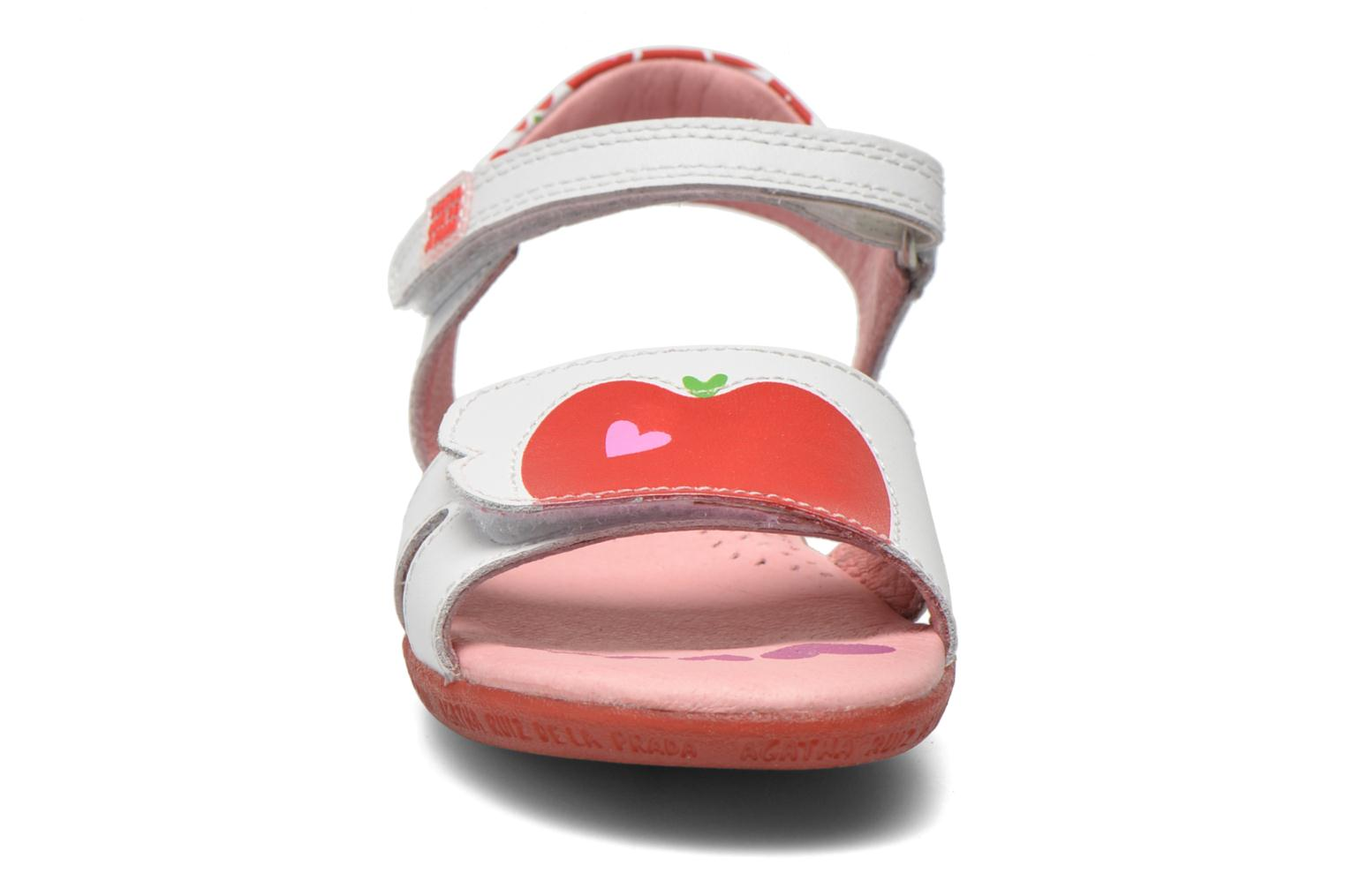 Sandals Agatha Ruiz de la Prada Ella V White model view