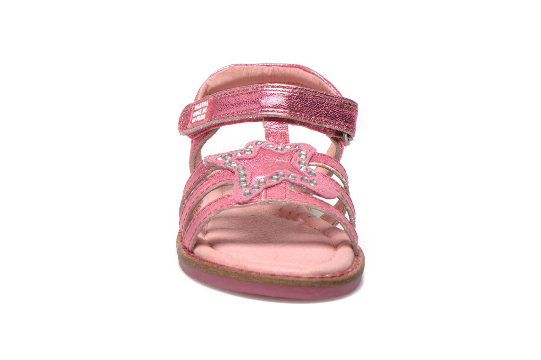 Sandales et nu-pieds Agatha Ruiz de la Prada Miss Ponza Rose vue portées chaussures