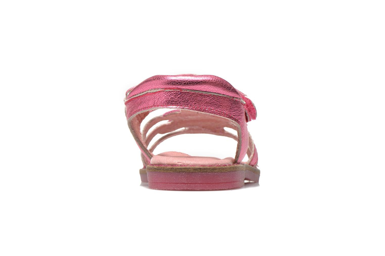 Sandales et nu-pieds Agatha Ruiz de la Prada Miss Ponza Rose vue droite