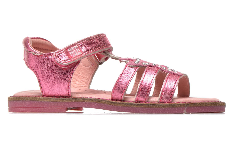 Sandales et nu-pieds Agatha Ruiz de la Prada Miss Ponza Rose vue derrière