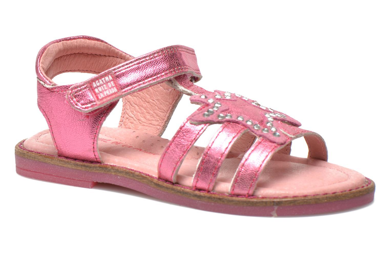 Sandales et nu-pieds Agatha Ruiz de la Prada Miss Ponza Rose vue détail/paire