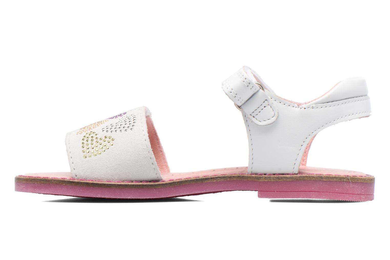 Sandales et nu-pieds Agatha Ruiz de la Prada Miss Ponza Blanc vue face