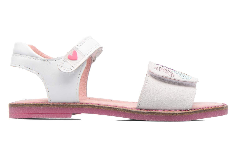 Sandales et nu-pieds Agatha Ruiz de la Prada Miss Ponza Blanc vue derrière