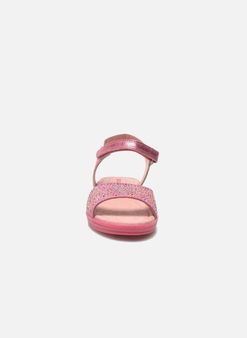 Sandali e scarpe aperte Agatha Ruiz de la Prada Diva Rosa modello indossato