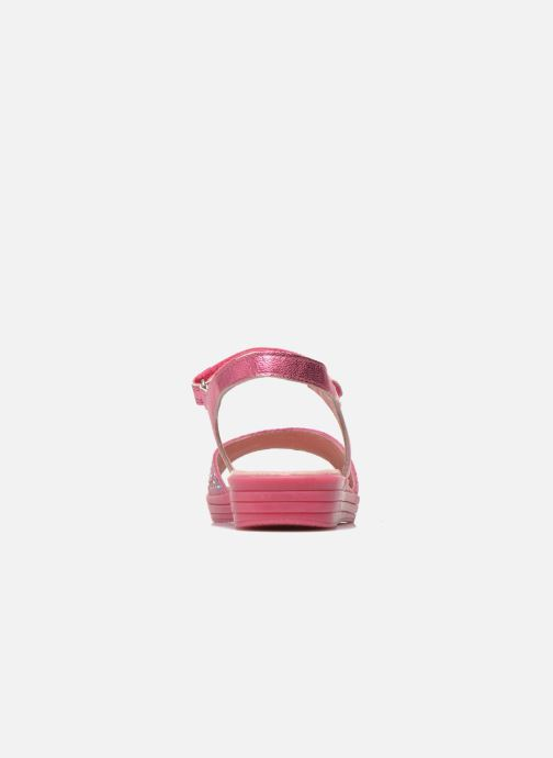 Sandals Agatha Ruiz de la Prada Diva Pink view from the right