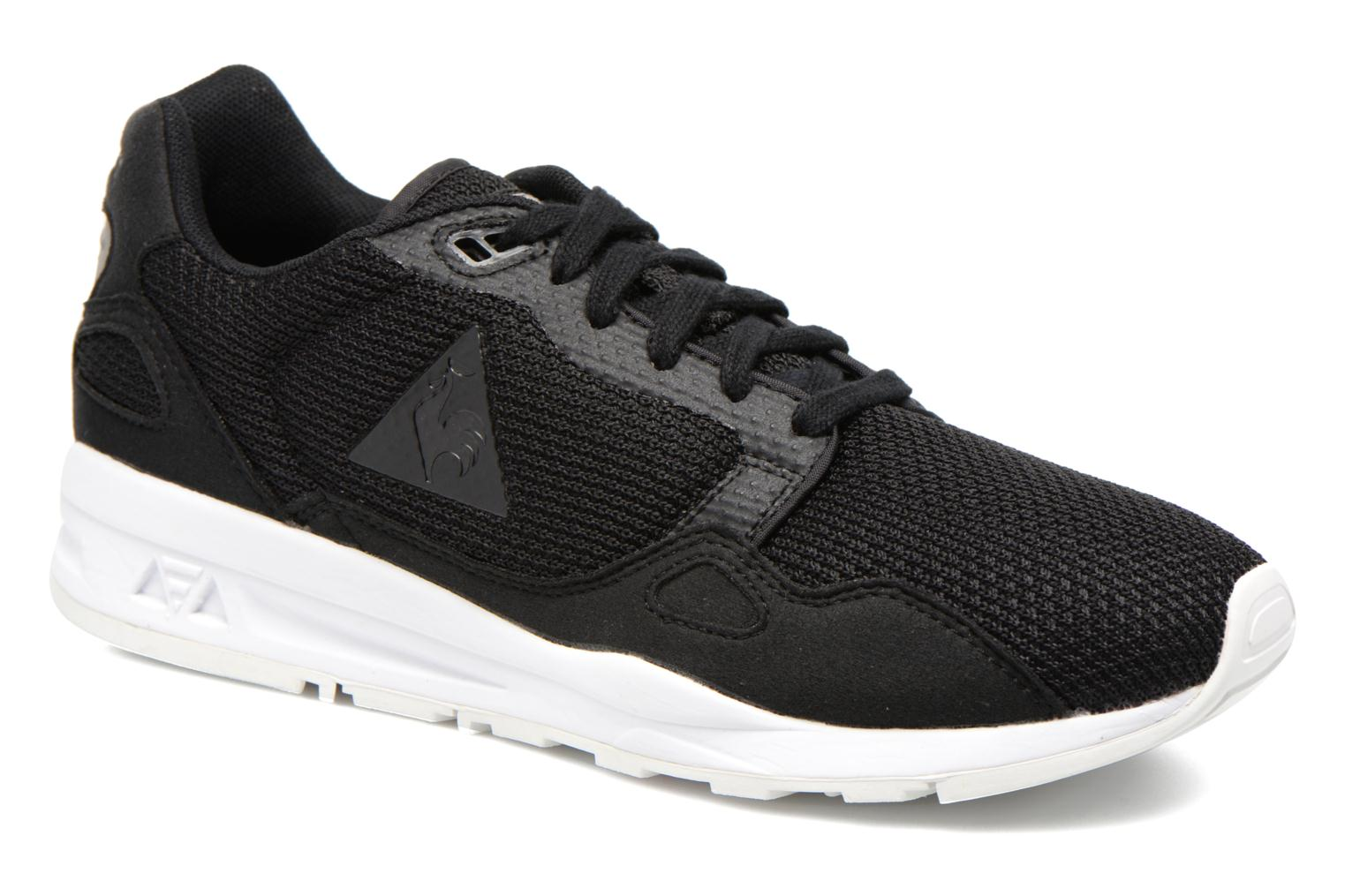 Trainers Le Coq Sportif LCS R900 Mesh 2 Tones Black detailed view/ Pair view