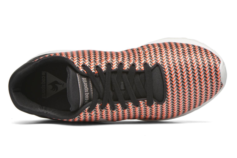 Baskets Le Coq Sportif LCS R950 Geo Jacquard Rouge vue gauche