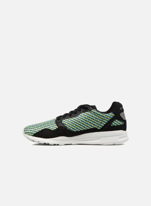 Trainers Le Coq Sportif Lcs R900 Geo Jacquard Black front view