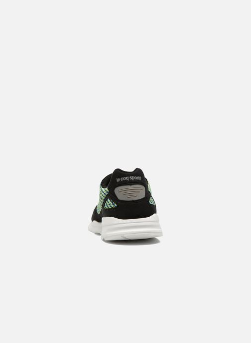 Trainers Le Coq Sportif Lcs R900 Geo Jacquard Black view from the right