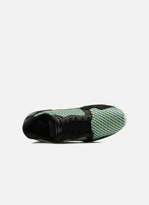 Sneakers Le Coq Sportif Lcs R900 Geo Jacquard Nero immagine sinistra
