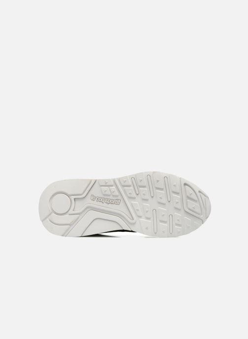 Sneakers Le Coq Sportif Lcs R900 Geo Jacquard Nero immagine dall'alto