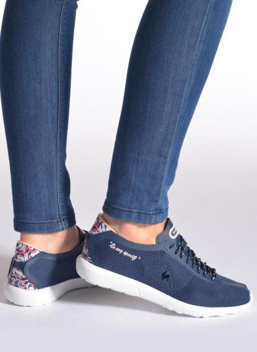 Sneakers Le Coq Sportif Wendon Levity W Flower Jacquard Azzurro immagine dal basso