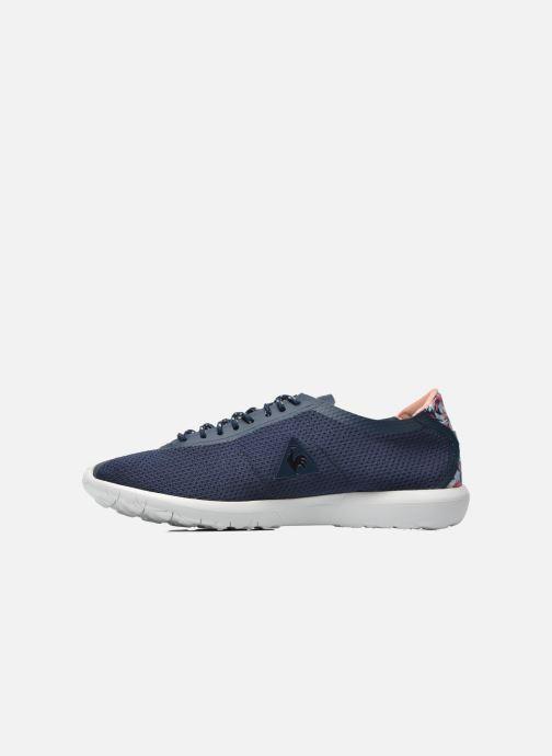 Sneakers Le Coq Sportif Wendon Levity W Flower Jacquard Azzurro immagine frontale