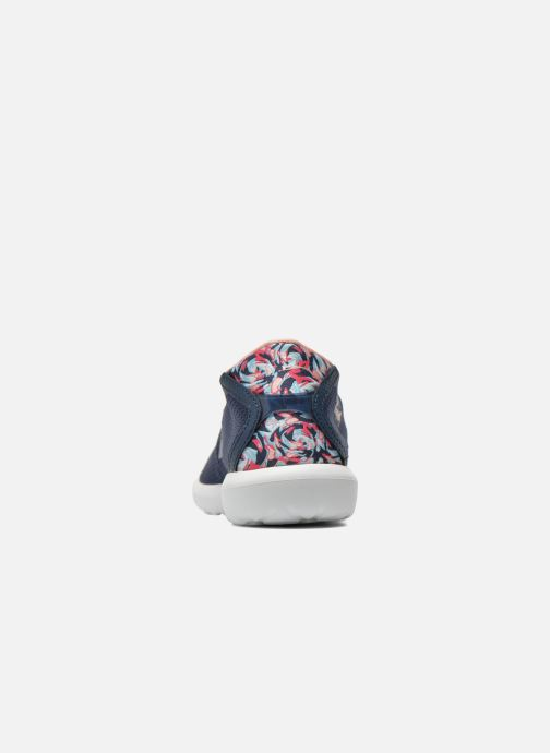 Trainers Le Coq Sportif Wendon Levity W Flower Jacquard Blue view from the right