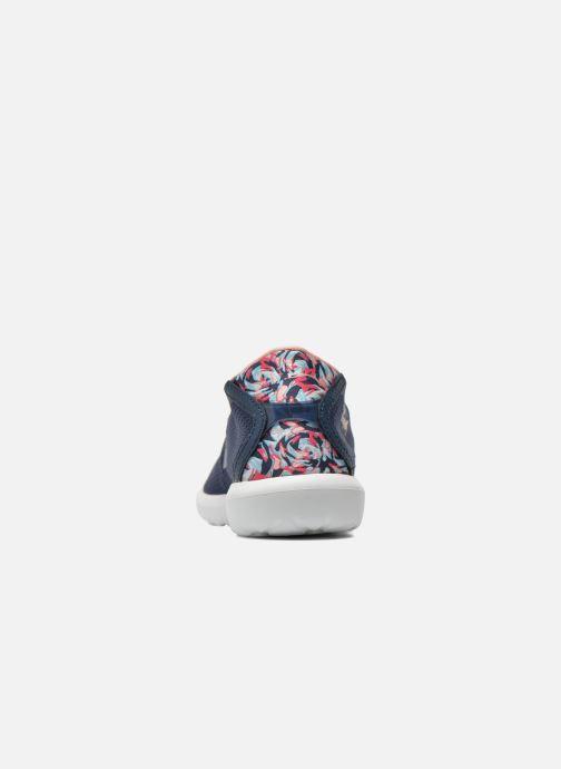 Sneakers Le Coq Sportif Wendon Levity W Flower Jacquard Azzurro immagine destra