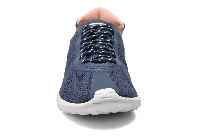 Baskets Le Coq Sportif Wendon Levity W Flower Jacquard Bleu vue portées chaussures