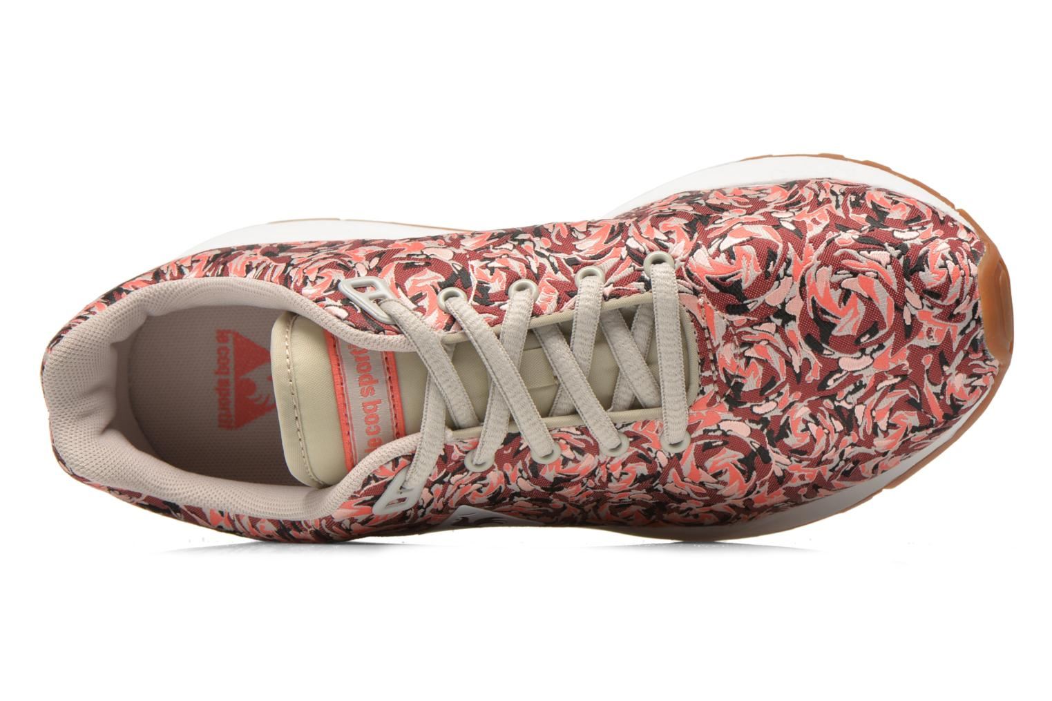 Trainers Le Coq Sportif LCS R950 W Flower Jacquard Multicolor view from the left