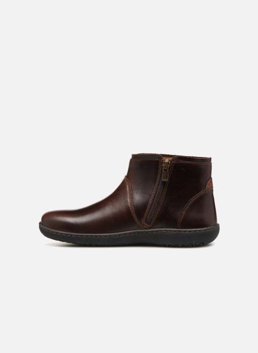 Ankle boots Birkenstock Bennington Brown front view