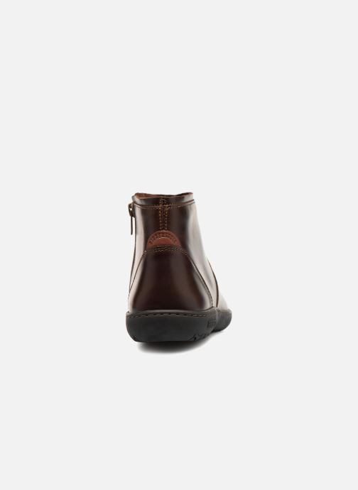 Ankle boots Birkenstock Bennington Brown view from the right