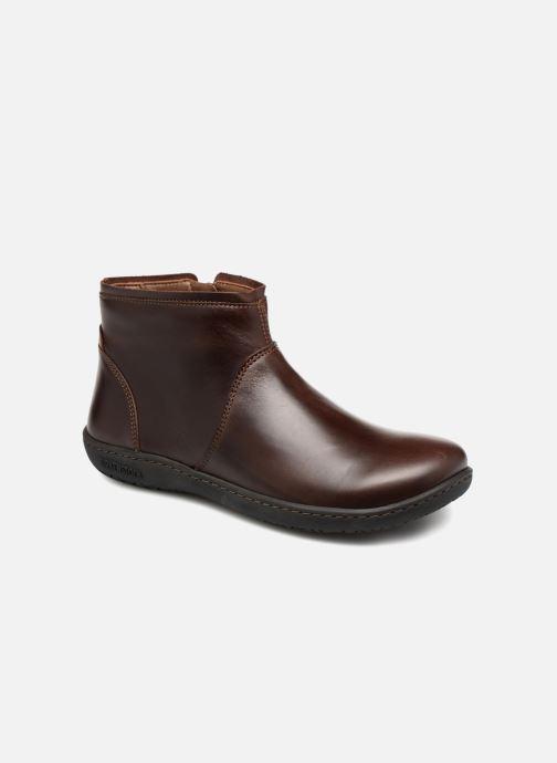 Bottines et boots Birkenstock Bennington Marron vue détail/paire