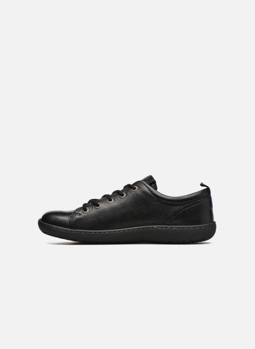 Zapatos con cordones Birkenstock Islay W Negro vista de frente